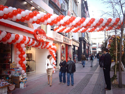 balon dekor süslemeleri