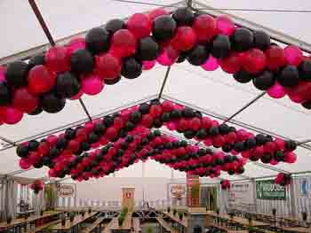 balon s�slemesi dekoru