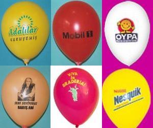 baskılı balon siparişi