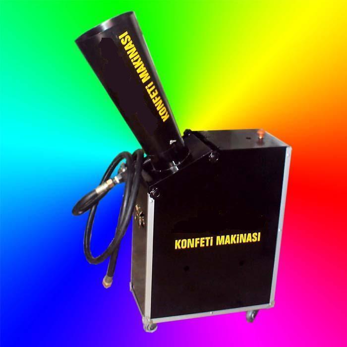 kiralık konfeti makinası